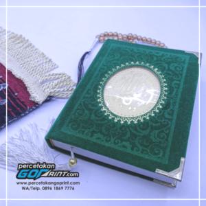 Buku Yasin & Tahlil Hardcover Bludru 224 Halaman Artpaper