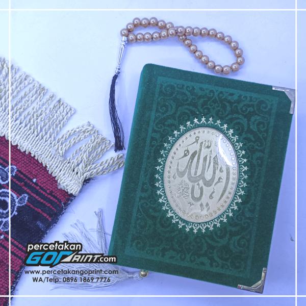 Buku Yasin & Tahlil Hardcover Bludru 176 Halaman HVS