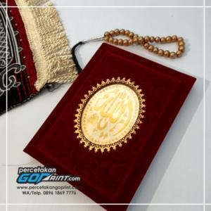 Buku Yasin & Tahlil Hardcover Bludru 128 Halaman Artpaper