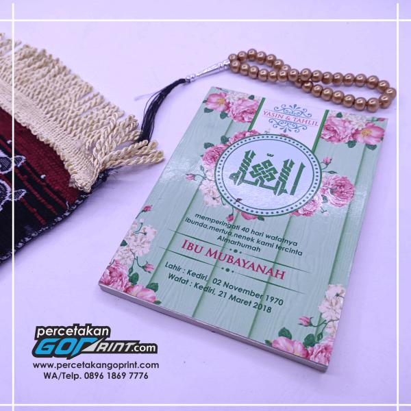 Buku Yasin & Tahlil Softcover 176 Halaman Artpaper