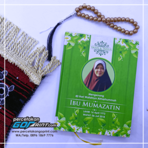 Buku Yasin & Tahlil Hardcover Custom 128 Halaman Artpaper
