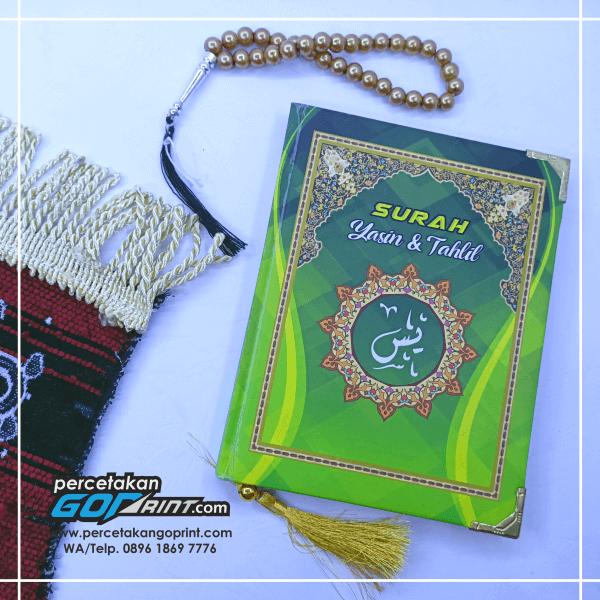 Buku Yasin & Tahlil Hardcover Custom 224 Halaman Artpaper