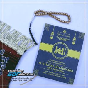Buku Yasin & Tahlil Hardcover Custom 224 Halaman HVS